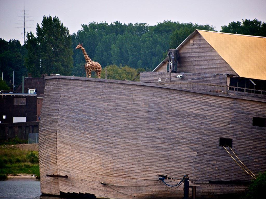 A arca de Noé dos tempos atuais